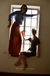 orange skirt-0386
