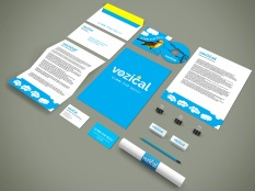 Vozical-Branding-Stationery Mockup